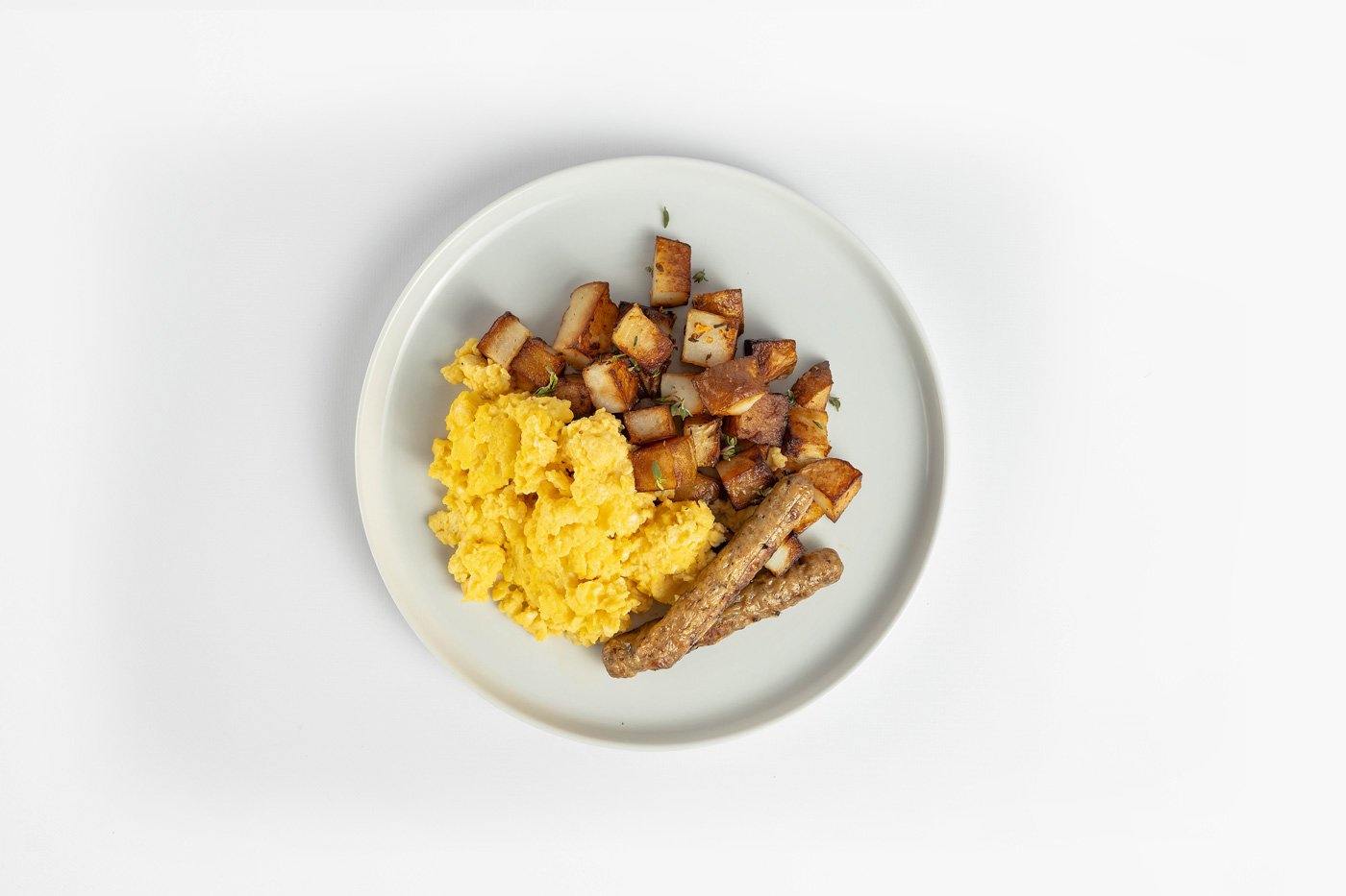 Egg Scramble with Sausage and Potato Breakfast Product Image